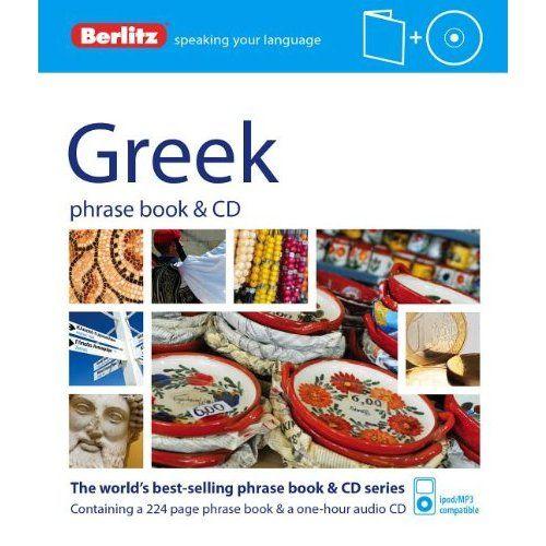 Berlitz görög szótár és CD Greek Phrase Book & CD
