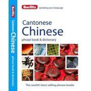 Berlitz kantoni kínai szótár Cantonese Chinese Phrasebook & Dictionary