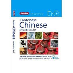 Berlitz kínai kantoni szótár CD Cantonese Chinese Phrase Book & CD