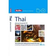 Berlitz thai szótár és CD Phrase Book & CD