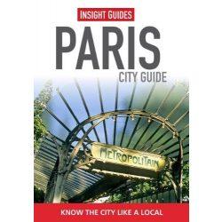 Paris Párizs útikönyv Insight Guides Nyitott Szemmel-angol 2013