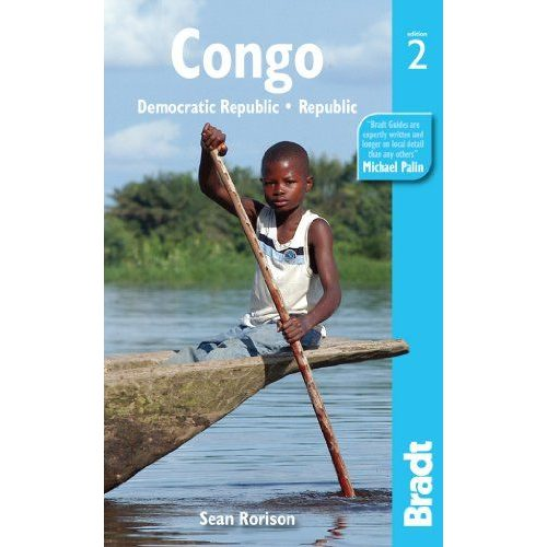 Kongó Congo Democratic Republic útikönyv Bradt - angol