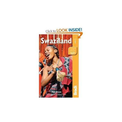 Swaziland Szváziföld útikönyv Bradt - angol