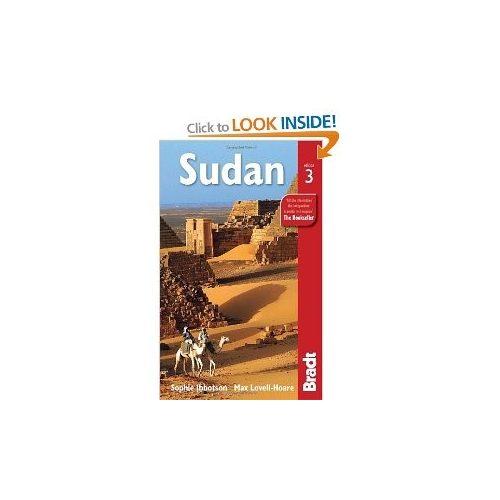 Szudán Sudan útikönyv Bradt - angol