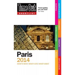 Time Out útikönyv Shortlist Paris Párizs 2013