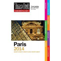 Time Out útikönyv Shortlist Paris Párizs
