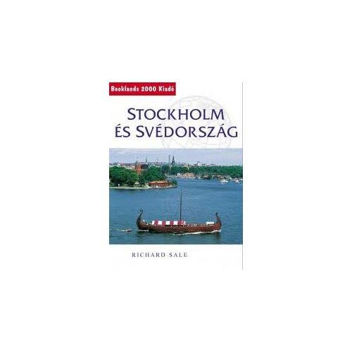Stockholm és Svédország útikönyv Booklands 2000 kiadó 2010