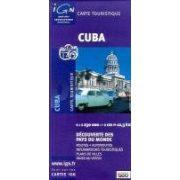 Cuba, Kuba térkép I.G.N. 1:1 230 000