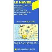 Le Havre térkép Grafocarte 1:17 000