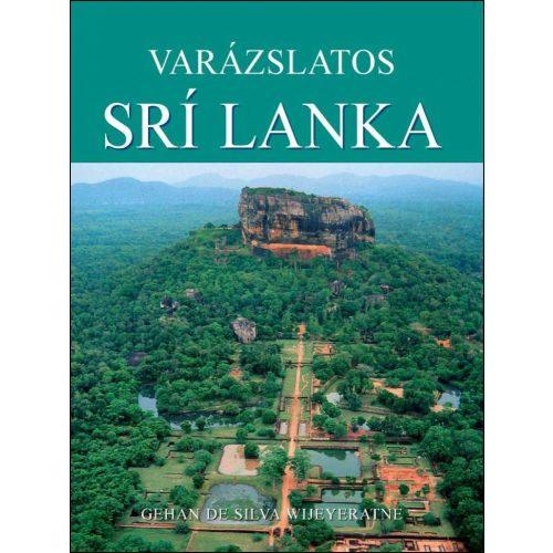 Varázslatos Srí Lanka útikönyv Booklands 2000 kiadó