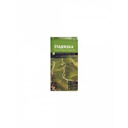 Pohorje térkép Stajerska Kartografija 1:75 000