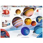 Ravensburger 11668 - Naprendszer puzzle - 540 db-os 3D puzzle, 3 dimenziós bolygók puzzle