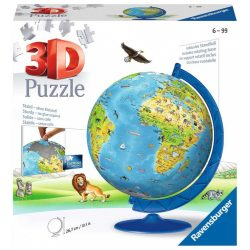 187 db-os 3D gömb Puzzle Földgömb gyerekeknek (12338)