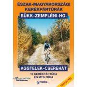 Észak-Magyarországi kerékpártúrák könyv térképpel Frigória