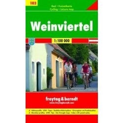 RK 103 Weinvierte kerékpáros térkép Freytag & Berndt 1:100 000
