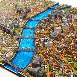 Budapest puzzle 4D Budapest City Puzzle , 4 dimenziós, 61 x 41 x 3 cm