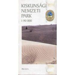 Kiskunsági Nemzeti Park térkép Paulus 1:90 000