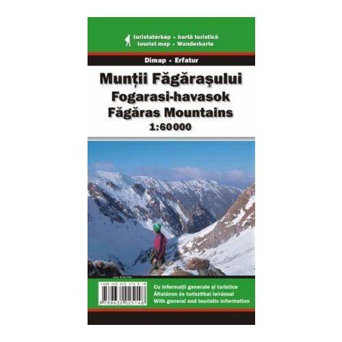 Fogarasi-havasok térkép Dimap Bt. 1:60 000
