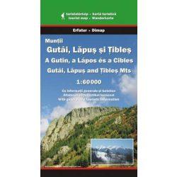 Gutin, Lápos és Cibles térkép Dimap Bt. 1:60 000