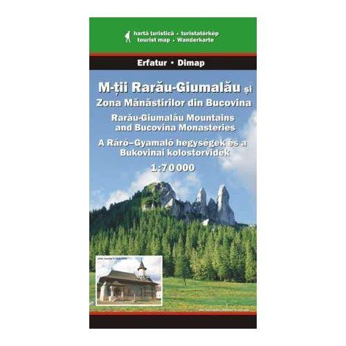 Ráró-Gyamaló hegység térkép Dimap Bt. 1:70 000