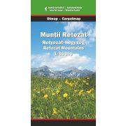 Retyezát-hegység térkép Dimap Bt. 1:50 000