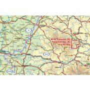 Torockói-hegység északi része és Tordai-hasadék térkép Dimap Bt. 1:50 000