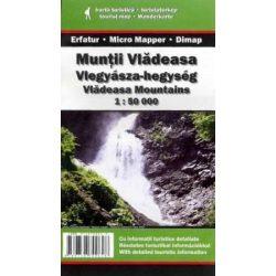 Vlegyásza-hegység térkép Dimap Bt. 1:50 000