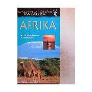 Afrika Kalandtúrák kalauza útikönyv Panoráma kiadó 2010