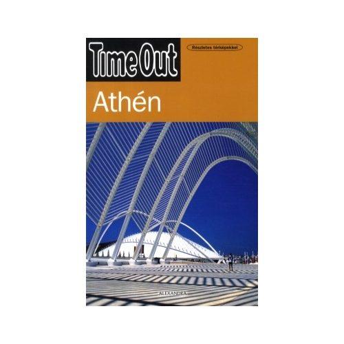 Athén útikönyv Alexandra kiadó, TimeOut