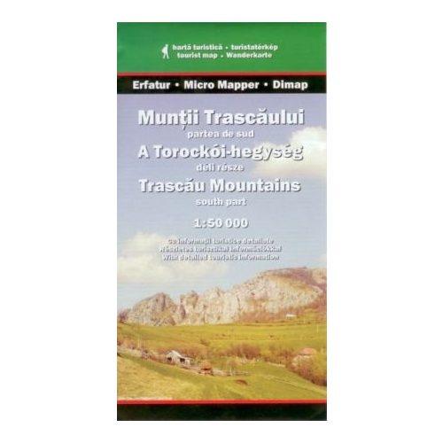 Torockói-hegység déli része térkép Dimap Bt. 1:50 000