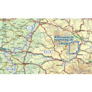 Torockói-hegység déli része térkép Dimap Bt. 2011 1:50 000