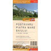 Keresztény - Nagykő-havas térkép - Postavaru, Piatra Mare, Baiului térkép vízhatlan 1:45 000/50 000