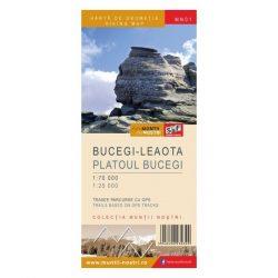 SF01 Bucsecs-hegység térkép vízhatlan, MN01 Bucegi térkép Muntii Nostri 1:25 000