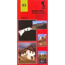 03. Ravna Gora turista térkép Smand 2009  12:25 000
