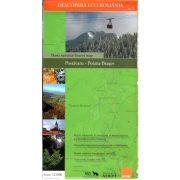 Keresztény-havas, Brassó környéke térkép Zenith 1:25 000