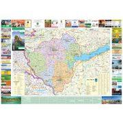 Zala megye térkép Stiefel 1:140 000