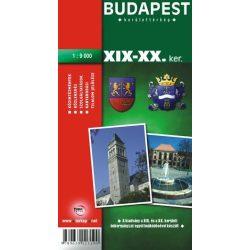 Budapest XIX-XX. Kerület térkép Topopress 1:9 000