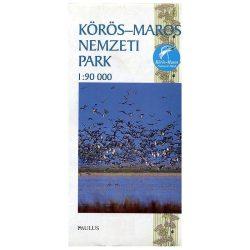 Körös-Maros Nemzeti Park térkép Paulus 1:90 000