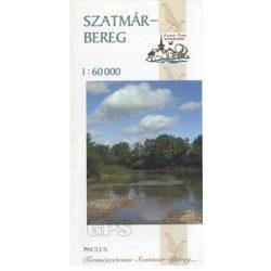 Szatmár-Bereg Nemzeti Park térkép Paulus 1:60 000