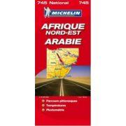Észak-Kelet Afrika térkép Michelin 1:4 000 000