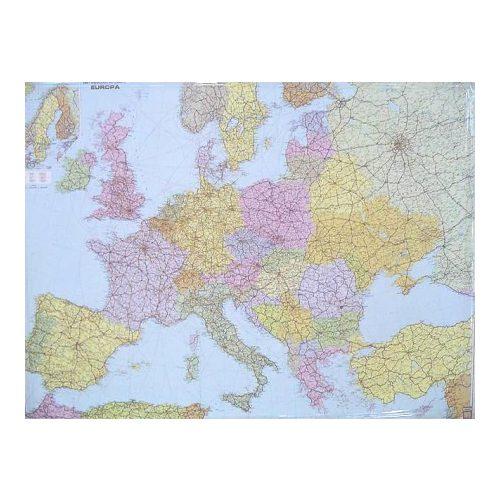 Európa országai fóliázott falitérkép Freytag 1:3 500 000 126x90