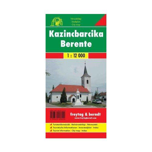 Kazincbarcika, Berente térkép Freytag 2007 1:12 000