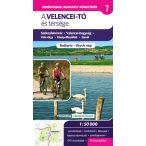 Velencei-tó és térsége kerékpáros térkép Frigória 1:50 000