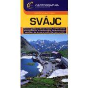 Svájc útikönyv Cartographia 2012