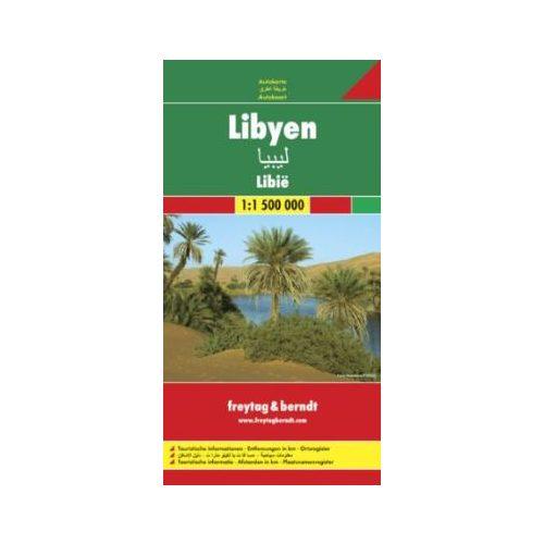 Líbia térkép Freytag & Berndt 1:2 000 000