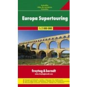 Európa Supertouring atlasz Freytag 1:2 000 000