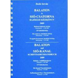 Balaton és Sió csatorna hajózási kézikönyv térkép Deák István 2009