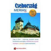 Csehország útikönyv Merian kiadó
