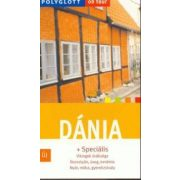 Dánia útikönyv Polyglott kiadó
