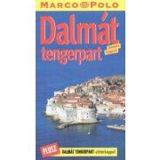 Dalmát  tengerpart útikönyv Marco Polo